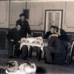 Drama eines blinden Kindes, aufgeführt im Januar 1956 im Saal Kammels